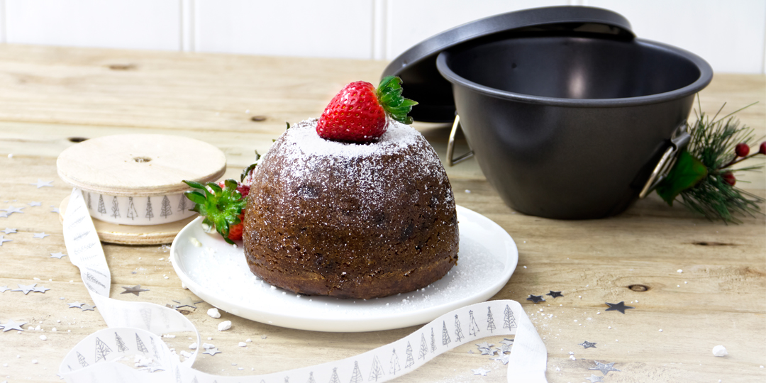 christmas pudding in oven bag